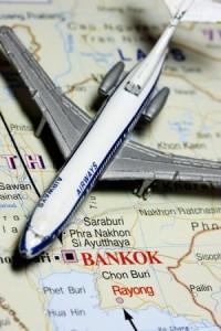 Bangkok Thailand Map