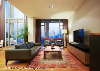 2 Bedrooms, コンドミニアム, 賃貸物件, Sukhothai Residences Condo, S Sathorn Rd, 2 Bathrooms, Listing ID 4127, Sathon, Bangkok, Thailand, 10120,