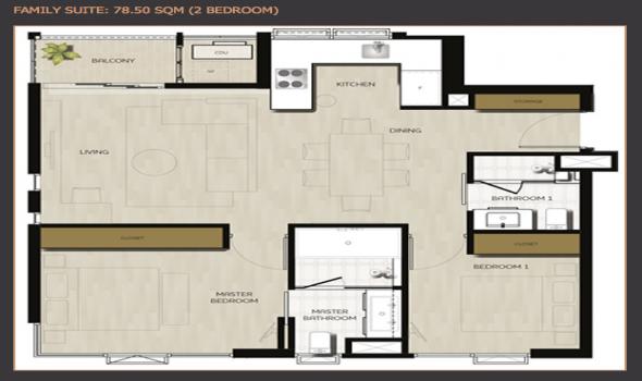 2 Bedrooms, コンドミニアム, 賃貸物件, Sukhumvit 61, 2 Bathrooms, Listing ID 4205, Khwaeng Khlong Tan, Khet Khlong Toei, Bangkok, Thailand, 10110,