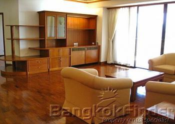 3 Bedrooms, アパートメント, 賃貸物件, Garden View, 4 Bathrooms, Listing ID 1350, Lumphini, Pathum Wan, Bangkok, Thailand, 10330,