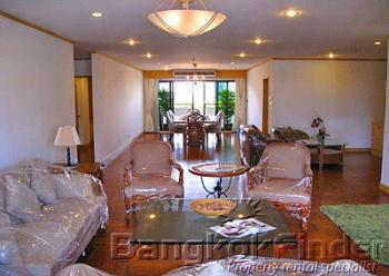 3 Bedrooms, アパートメント, 賃貸物件, 4 Bathrooms, Listing ID 1544, Bangkok, Thailand,