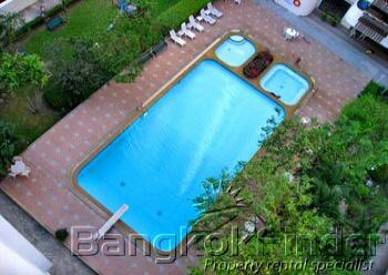 2 Bedrooms, アパートメント, 賃貸物件, Hawaii Tower, 2 Bathrooms, Listing ID 1663, Watthana, Bangkok, Thailand,