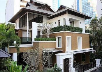 4 Bedrooms, 一戸建て, 賃貸物件, 5 Bathrooms, Listing ID 1914, Bangkok, Thailand,