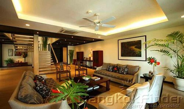 3 Bedrooms, ペントハウス, 賃貸物件, 3 Bathrooms, Listing ID 2694, Bangkok, Thailand,