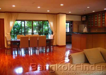 2 Bedrooms, アパートメント, 賃貸物件, Castle Suites, Sathorn 7, 2 Bathrooms, Listing ID 166, Bangkok, Thailand,